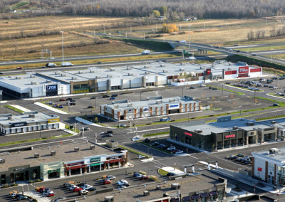 Quartier Dix30, commercial buildings, ± 50,000 sq. ft., Brossard.
