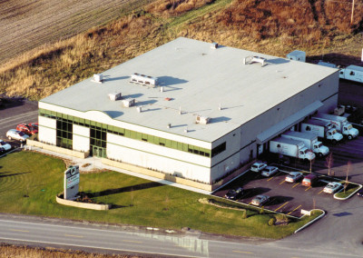 JG fruits et légumes, offices and refrigerated warehouse, 26,000 sq. ft., Chambly.
