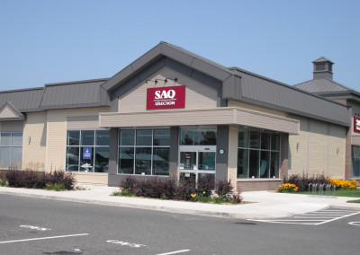 SAQ Sélection Bromont, Conception/Construction, certification LEED 5600pc