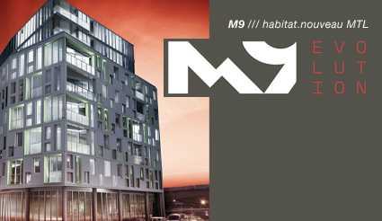 BBD Constructions Projects M9 Condominiums Old Montreal Habitat Evolution Condos Havre