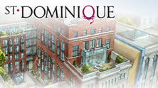 BBD Constructions Projects St-Dominique Condominium Montreal Design condos Multi housing
